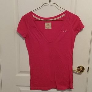 Hollister v neck tee